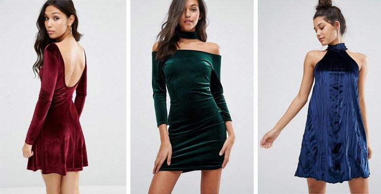 Trend: Fluwelen jurkjes