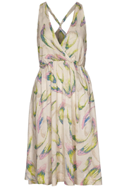 Gekleurd lente kleedje