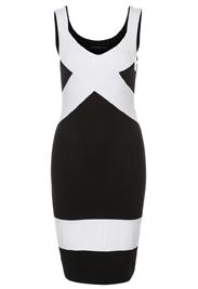 Zwart-wit lente kleedje