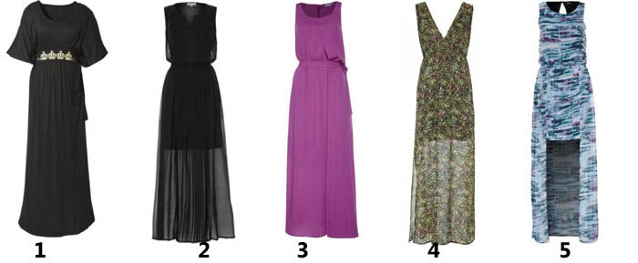 Maxi jurken online   Kleedjes.be