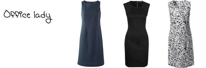 Mouwloze jurken zakelijk online   Kleedjes.be