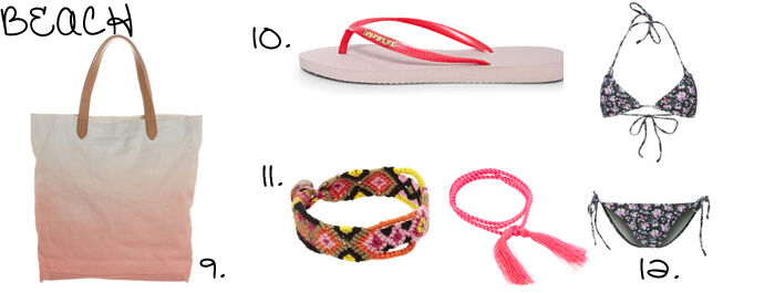 Musthaves strand accessoires | Kleedjes.be