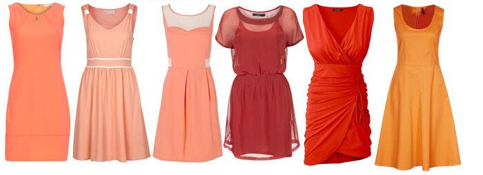 Oranje kleedjes online | Kleedjes.be