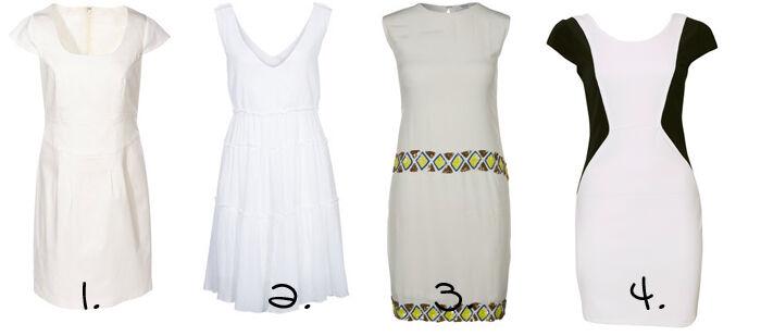 Witte kleedjes | Kleedjes.be