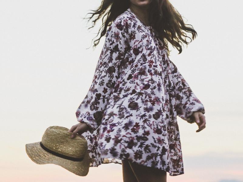 paarse jurken