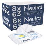 Baby Billendoekjes - 16 x 63 stuks - 0% Parfum