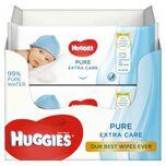 Pure Billendoekjes Extra Care - 8 x 56 babydoekje
