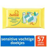 Sensitive Snoetenpoetsers - Beestenboel - 1 x 57 stuks - 57 toetendoekjes