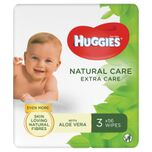 Natural Care Billendoekjes - 3 x 56 babydoekjes - Extra Care