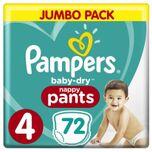 Baby Dry Pants - Maat 4 - Mega Pack - 72 luierbroekjes