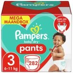 Baby Dry Pants - Maat 3 - Mega Maandbox - 282 luierbroekjes
