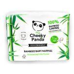 Cheeky Panda Bamboe Baby Luiers Maat 1 2.5kg