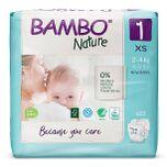 Bambo Nature Luier - New Born - maat 1 22 stuks