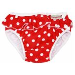 ImseVimse Zwem Luiers - Red Dots Frill L 9 - 12 kg