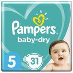 Baby Dry Maat 5 - 31 Luiers