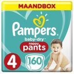 Baby-dry Pants / Luierbroekje Maat 4 - 160 Stuks