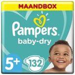 Baby Dry Maat 5+ - 132 Luiers