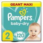 Baby-dry Maat 2, 120 Luiers