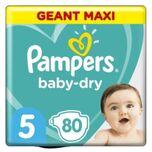 Baby-dry Maat 5, 80 Luiers