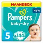 Baby Dry Maat 5 - 144 Luiers