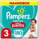 Baby Dry Pants Maat 3 - 180 Luierbroekjes Maandbox