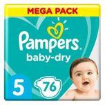 Baby-dry Maat 5, 76 Luiers