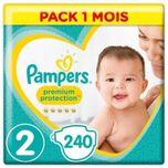 Premium-bescherming Nieuwe Babymaat 2 - 4 Tot 8kg - 240 Lagen - Pakformaat 1 Maand