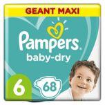 Baby-dry Maat 6, 68 Luiers