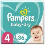 Baby Dry Maat 4 -36 Luiers
