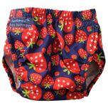 Konfidence Zwemluier Aquanappy Strawberry Junior Rood One-size
