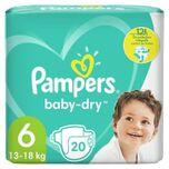Baby-dry Maat 6, 20 Lagen