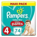 Baby Dry Pants Maat 4 - 74 Luierbroekjes