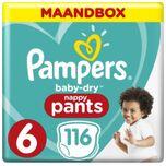 Baby Dry Pants Maat 6 - 116 Luierbroekjes Maandbox