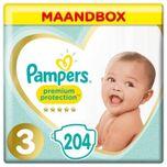 Premium Protection Maat 3 - 204 Luiers Maandbox