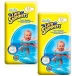 Little Swimmers Maat 2/3 (3-8 kg) Zwemluiers - 24 Stuks