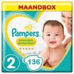 Premium Protection Luiers Maat 2 - 136 Luiers Maandbox