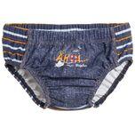 UV wasbare Zwemluier Kinderen Jeans - Blauw - Maat 74/80