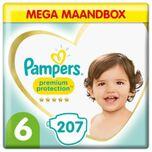 Premium Protection - Maat 6 - Mega Maandbox - 207 luiers