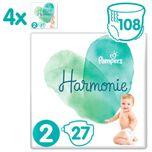 Harmonie / Pure Maat 2 (4-8 kg) 108 luiers