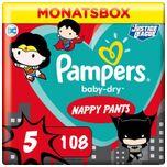 Pants Baby Dry - Luierbroekjes - Maat 5 - 12-17 kg - Maandbox - Limited Edition, 108 St