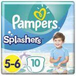 Splashers Zwemluiers - MT 5-6 - 14+Kg - 10 Stuks
