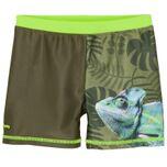 Zwemshort Kameleon Uv-werend Olijfgroen Maat 110/116