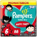Pants Baby Dry - Luierbroekjes - Maat 6 -15+ kg - Maandbox - Limited Edition, 88 St