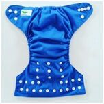 One Size Luierbroekje blauw