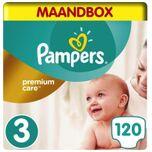 Premium Care - Maat 3 - Maandbox - 120 luiers
