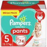 Baby Dry Pants - Maat 5 - Mega Pack - 74 luierbroekjes