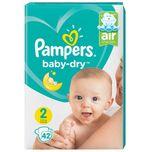 Baby Dry Mid Pack Mini Maat 2 - 4x42 stuks