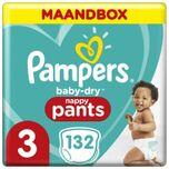 Baby Dry Pants - Maat 3 - Maandbox - 132 luierbroekjes