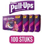 4x Pull-Ups Toilet Training Broekjes Meisjes 25 stuks,optrekluiers - luiers - pampers - trainingbroekjes ,toilettraining