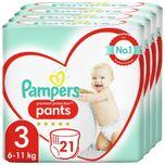 Premium Protection Pants Luierbroekjes - Maat 3 (6-11 kg) - 84 stuks - Maandbox